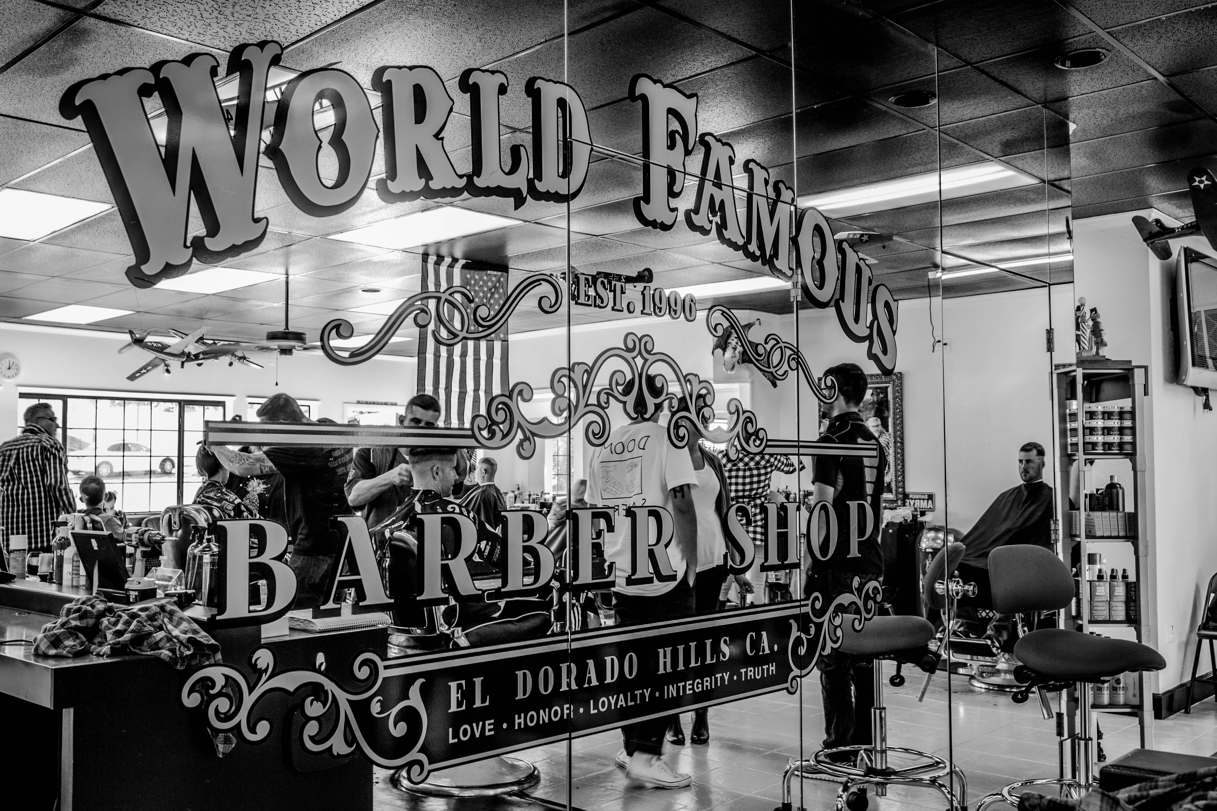 Barber Jons Grand Opening El Dorado Hills