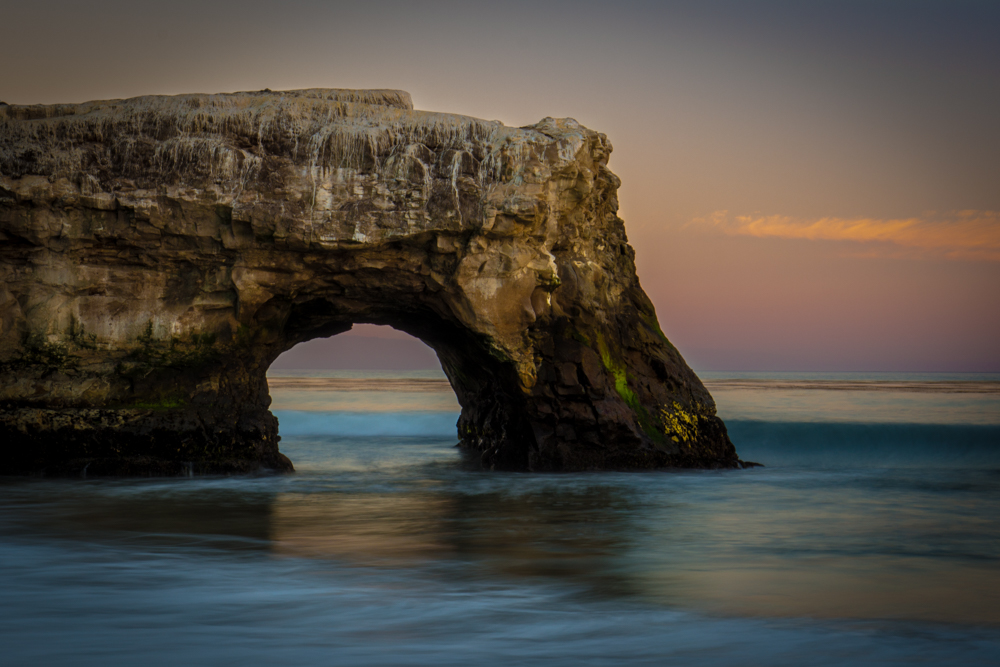Santa Cruz Natural Bridges State Beach