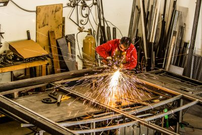 Iron Worker Contractor Photography