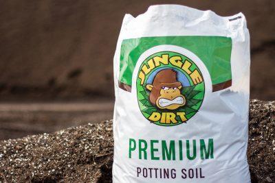 Jungle Dirt Soil Bag Photography
